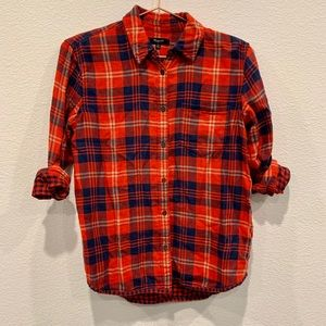 Madewell Flannel